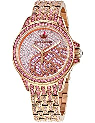 Juicy Couture Charlotte Rose Crystal Pave Dial Ladies Watch 1901443