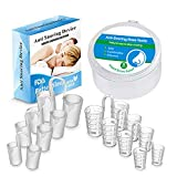 Saberl Snoring Solution - Anti Snoring Devices - PBA Free - 8 Pairs Anti Snoring Nose Vents - Snoring Reduce Aids - Snore Stopper Nasal Dilators - Snore Stopper Set