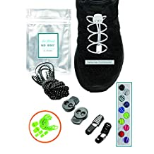 No Ego, No Tie Shoelaces, Elastic Shoelaces, Reflective Shoelaces, For Sports and Hiking