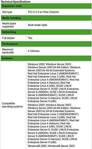 HP AD168A Fc2143 4gb Pci X2.0 Hba Lc by HP (Image #2)
