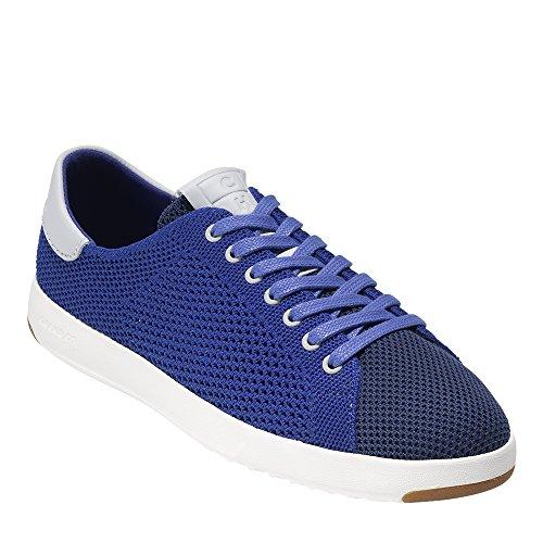 Cole Haan Womens Grandpro Stitchlite Tennis Sneaker Blu Tempesta