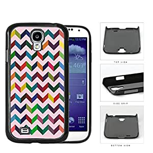 3 Dimensional Chevron In Multiple Colors Hard Plastic Snap On Cell Phone Case Samsung Galaxy S4 SIV I9500