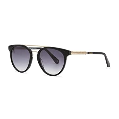 ded4666ea3f Amazon.com  Balmain sunglasses (BL-2518 01) Shiny Black - Gold ...