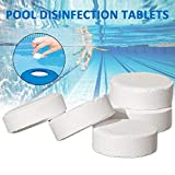 Professional for Stabilized Chlorine Dioxide, 50 Pcs Swimming Pool Instant Disinfection Tablets Chlorine