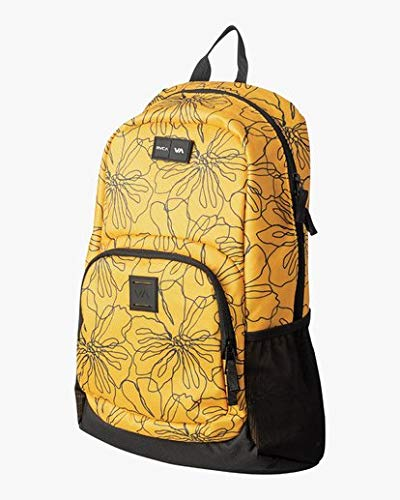 RVCA Men's Estate Backpack II, Yellow, ONE Size