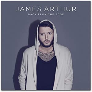 James Arthur Back from the Edge 2018 Álbum de música pop Cantante Arte Carteles Lienzo Pintura Decoración de la pared del hogar -60x60cm Sin marco 1 PCS