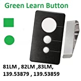 Sears Garage Door Opener Visor Remote Control Work with Green Learn Button