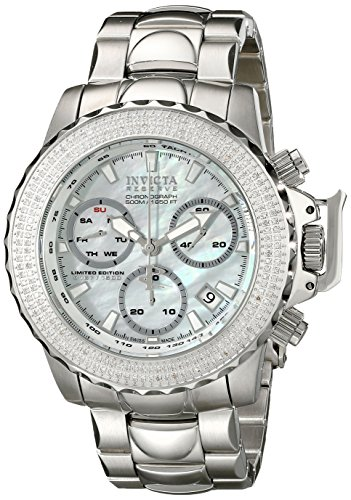 Invicta Men's 16256 Subaqua Analog Display Swiss Quartz Silver Watch