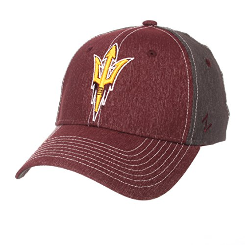 Zephyr NCAA Arizona State Sun Devils Men's Dusk Hat, X-Large, Team Color/Dark Grey ()