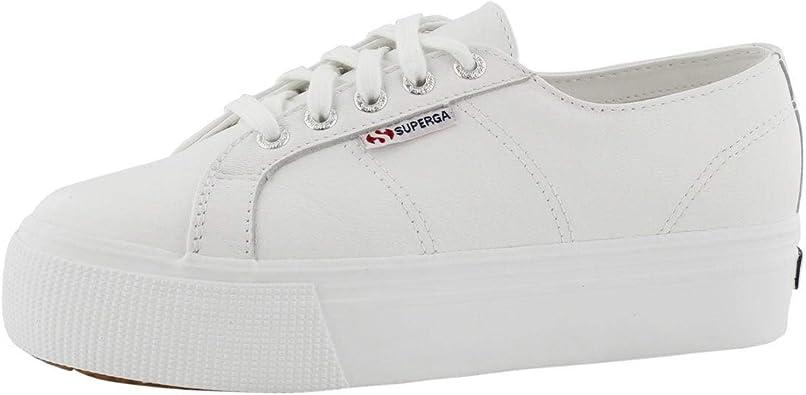 Platform Fashion Sneaker White