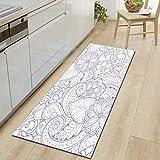 Blue Geometric Line Tapis Salon Absorbent Bath Mat Area Rug for Living Room Bedroom Floor Tapete Infantil Carpet