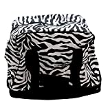Household Essentials Weekender Bag Zebra Print, Black/White, One Size