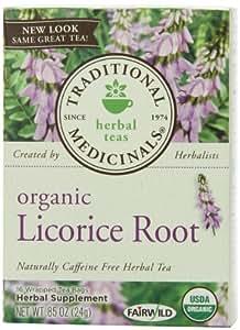 Organic Herbal Tea Licorice Root 16 bags
