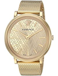 Women's 'THE MANIFESTO EDITION' Quartz and Stainless-Steel-Plated Casual Watch, Color:Gold-Toned (Model: VBP060017)