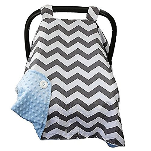 Baby Car Seat Covers for Girls and Boys (BLUE) by nyc