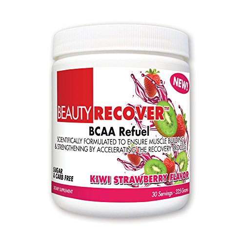 BeautyFit BeautyRecover, BCCA Refuel For Women, Kiwi Strawberry, 314 grams (30 Servings)