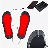 Hi-Pro Electric Insoles Battery Powered Heated Shoes Keep Boots Feet Warm Winter Pad