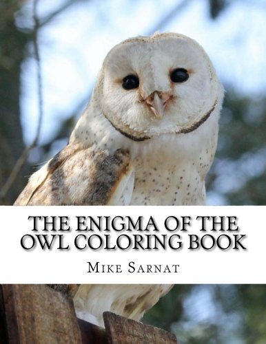 The Enigma of the Owl Coloring Book [Mike Sarnat] (Tapa Blanda)