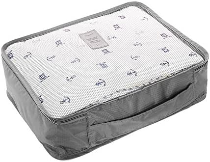Packing Cubes 12 Piece (Two 6 Piece Sets)- June Bugz Travel Luggage Organizers with Laundry Bags, Lightweight Pouches. Accessories for Suitcases,Carry-on, Backpacks Weekenders, Cruise, Business trips