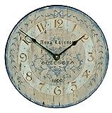 Roger Lascelles Larson Swedish Design Clock, 14.2-Inch
