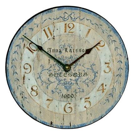 Amazon.com: Roger Lascelles Larson Swedish Design Clock, 14.2-Inch on brazilian clock, gaelic clock, serbian clock, gustavian clock, 4 hand clock, rustic modern clock, simplified clock, edo clock, teal table clock, white washed clock, korean clock, finish clock, arabian clock, danish clock, norwegian clock, gothic clock, hangul clock, british clock, finnish clock, american clock,