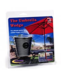 Daystar, Umbrella Wedge,fits most patio umbrella shafts, designed to reduce moving and hold your umbrella in place, PA20255BK