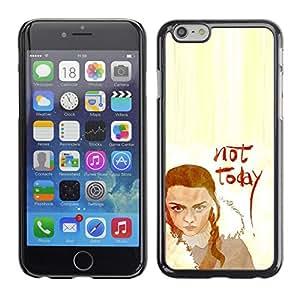 A-type Arte & diseño plástico duro Fundas Cover Cubre Hard Case Cover para iPhone 6 (No Hoy Lannister)