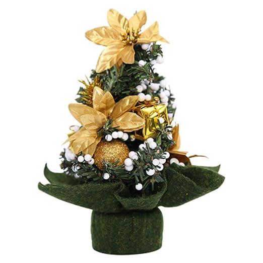Newin Star Navidad Artificiales Mini árboles de Navidad de Mesa ...