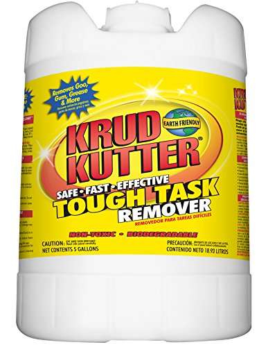 Krud Kutter KR05 Clear Tough Task Remover with No Odor, 5 Gallon by Krud Kutter