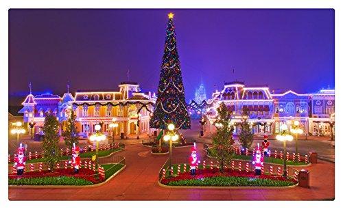 Estados Unidos Disneyland Navidad casas parks California Anaheim ...