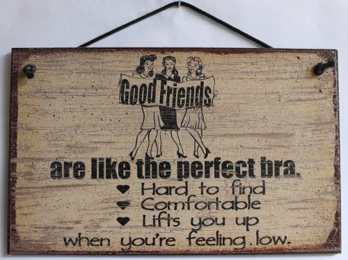 5x8 Vintage Style Sign (with Ladies) Saying,