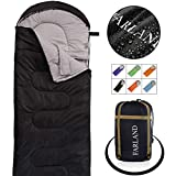 Camping Sleeping Bag-Envelope Mummy Outdoor Lightweight Portable Waterproof Perfect for 20 Degree Traveling,Hiking Activities