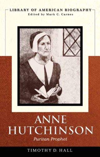 Anne Hutchinson Puritan Prophet