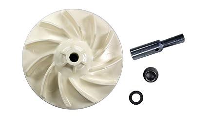 KHY Fan Kit Kirby Vacuum Fan Impeller, fits 516~562, S7~D80, 1CR to Legend  II 119078 Traditions Vacuums