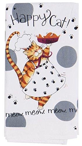 Kay Dee Designs R2633 Happy Cat Flour Sack Towel Part 59