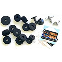 Drum Starz 30 Piece DELUXE SURVIVAL PACK for Drummers - Felts, Sleeves, Drum Key & More!