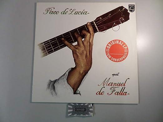 Paco De Lucía - Spielt Manuel De Falla - Philips - 6328 245: Paco ...