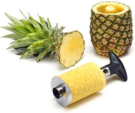 Statko Stainless Steel Pineapple Peeler, Pineapple Corer, Pineapple Slicer - All In One Kitchen Gadget