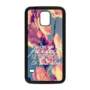 Bible Verse Custom Cover Case for SamSung Galaxy S5 I9600,diy phone case ygtg619414