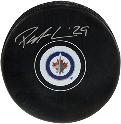 Patrik Laine Winnipeg Jets Autographed Hockey Puck - Fanatics Authentic Certified - Autographed NHL Pucks