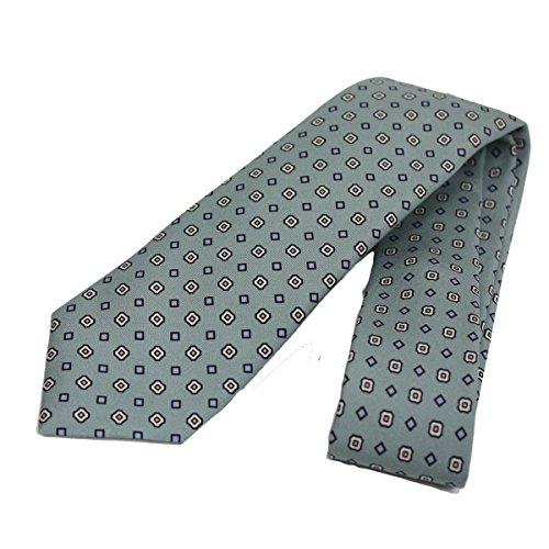 Gucci Patterned Sea Foam Green Woven Silk Tie 368200 (Gucci Woven Tie)