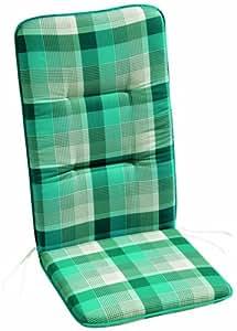 BEST 05091311 - Cojín para sillas de exterior (alto), color multicolor