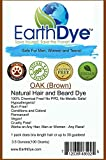#1: EarthDye Chemical Free Hair and Beard Dye (1 Packs, Medium Brown)