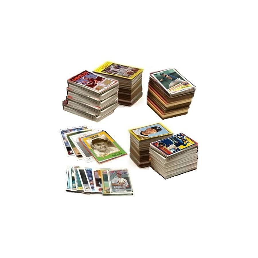 600 Baseball Cards Including Babe Ruth, Unopened Packs, Many Stars, and Hall of famers. Ships in Brand New White Box Perfect for Gift Giving. Includes At Least One Original Unopened Pack of Topps Vintage Baseball Cards That Is At Least 25 Years Old!