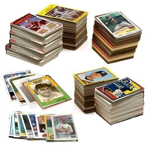 600 Baseball Cards Including Babe Ruth, Unopened Packs, M...