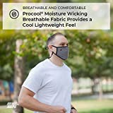 K&N Face Mask: Washable, Reusable, Breathable, and