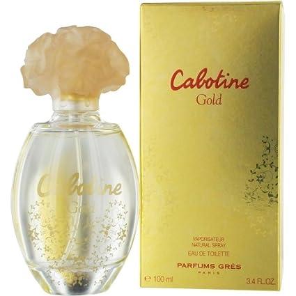 Cabotine por el oro de agua de colonia para mujer en spray 3,4 oz