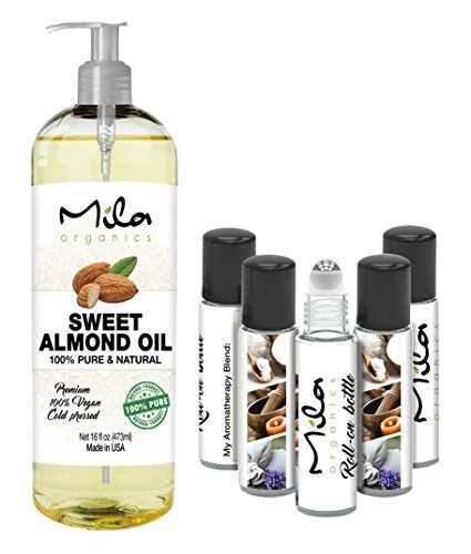 Mila Organics SWEET ALMOND OIL product image