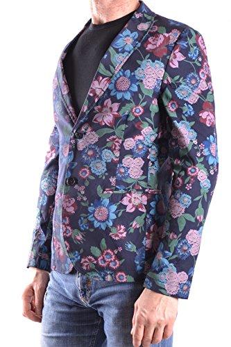 Daniele Alessandrini Homme MCBI086492O Multicolore Coton Blazer