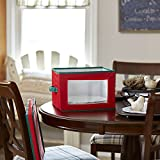 Household Essentials 536RED Holiday China Storage